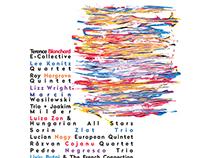 2015 Bucharest Jazz Festival visual identity & brochure