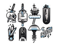 TATTOO FLASH VECTOR