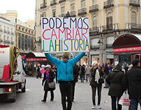 In the streets of Madrid: Revolution