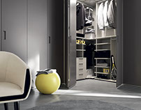 Use Your Space - Corner Wardrobe