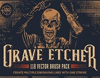 Grave Etcher | Engraving Brushes by RetroSupply Co.