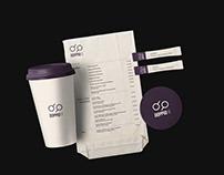 doppio café / brand identity