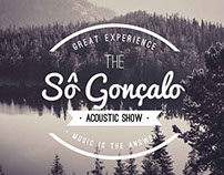 Acoustic Show Sô Gonçalo