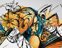 Latest Love - Adobe MAX 2015 Mural