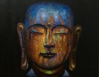 Acrylic Painting - Buddha
