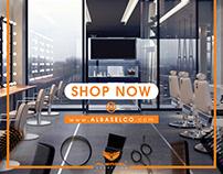 Social Media Designs- Al Basel Cosmetics