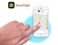 NowTaxi App Design.