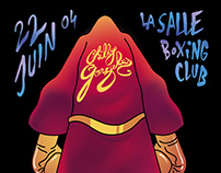 Chilly Gonzales boxing poster