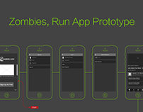 Health App Prototype Example – Zombies, Run