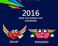 Microsoft Bing T20 World Cup Campaign