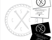 S.C.C.C : LOGO & STATIONARY DESIGN