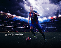 Andres Iniesta Wallpaper 2017