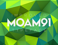 MOAM91 Typeface - New Edition