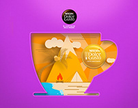 Thousands of experiences at a single cup / Dolce Gusto