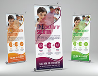 Corporate Roll-up banner