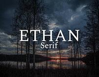 Free Ethan Serif Font