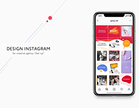 Design instagram