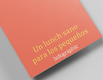 """Booklet informativo – """"Un lunch sano para los pequeños"""