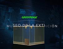 Museum of extinction Greenpeace
