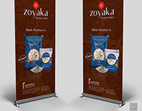 Zoyaka Basmati Rice Standees