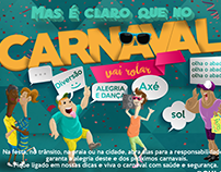 Campanha de Carnaval - Contact Center RIACHUELO