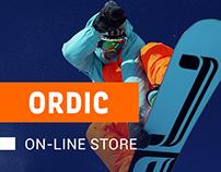 ORDIC  /  онлайн магазин спортивных товаров