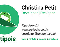 Petipois Busines Card Designs