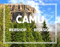 Camu.fi / webshop redesign