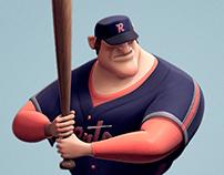 John Jones Junior Jr. - Baseball Player