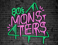 MONSTERS 80´s