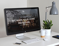 Landing page For Architecture Agency