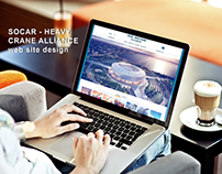 SOCAR - Heavy Crane Alliance Web site design