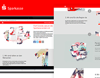 Sparkasse - 5 Reasons Making us Different Landing Page