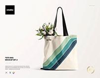 Tote Bag Mockup Set 2