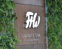 FHW - Luxury Spa | Brand Identity