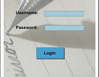 Class Enrollment Portal, Google material Design
