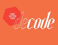 Decode Free Vector Font