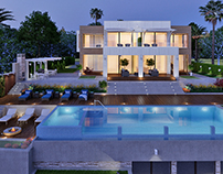 Modern villa in Halkidiki