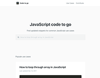 Code To Go | Branding & Website