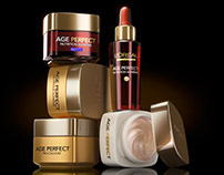 L'Oreal Age Perfect 3D still life