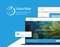 ValorMar Logo & UI Design