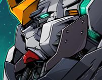 """My GUNDAM"" March Of Robots 2017 - No.7"