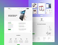 Software company - website ux
