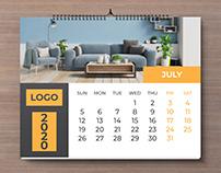 2020 Calendar Project-2