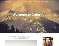 Colorado | Blog WordPress Theme