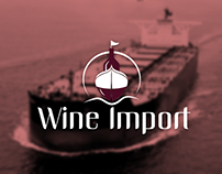 Logotipo Wine Import