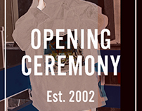 Opening Ceremony's Poster