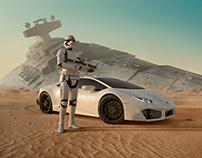 Lamborghini Advertising - Finn