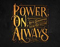 Logo - Power On Always | Santa Rosa CA