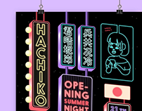 HACHIKO OPENING NIGHT